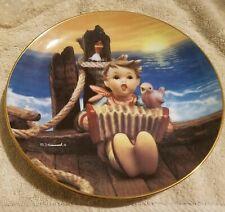 """M.J.Hummel-Danbury Mint Plate """"Let's Sing"""" Gentle Friends Lm3735"""