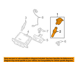 FORD OEM-Ignition Coil 8L3Z12029A