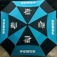 AFL Premium Umbrella - Port Adelaide Power - Rain Weather - 62 Inch