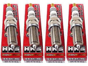 [Set of 4] HKS 50003-M45XL Super Fire Racing Iridium Spark Plugs Heat Range #9