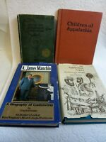 Lot of 4 Appalachian West Virginia KY History Mannington Mountaineer Books HB