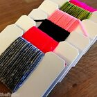 HARELINE'S RAYON CHENILLE .. SIZE FINE -- Fly Tying carded pack or set lot