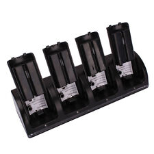 Charger Dock Stand + 4 x 2800Mah Battery for WII Remote Black