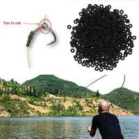100Stk Carp fishing Round rig rings fishing rigs O rings 4mm,5mm,5.4mm,6mm W1V9
