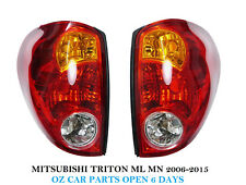 FOR MITSUBISHI TRITON ML MN UTE 2006-2015 TAIL LIGHTS LH+RH REAR LAMPS NEW