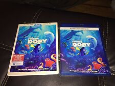 Brand New Disney Pixar Finding Dory Blu-ray Disc DVD Digital Copy Factory Sealed