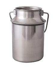 Bidon à lait avec Couvercle 7,5L En Acier Inoxydable Bouteille Pot Cruche Inox