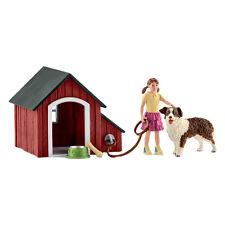 Schleich Farm Life Dog Kennel Set