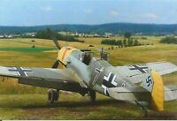 WW II  German   Photo ----  Messerschmitt Bf109