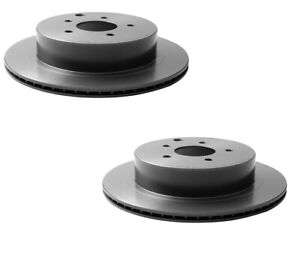 2 Rear Disc Brake Rotors Brembo 09B53110 for Infiniti FX35 M35 G37 Nissan Murano