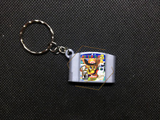 Mario Party 2 3D CARTRIDGE KEYCHAIN Nintendo 64 N64 collectible