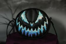 LOVE PAIN STITCHES HANDMADE BLACK HOLOGRAPHIC BAD COMPANY BAG - NEW *IN HAND*