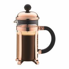 Bodum Chambord French Press Coffee Herbal Tea  Maker 3 Cup, 0.35L, Copper