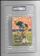 Herb Adderley Autograph / Signed Goal Line Art Card GLAC Packers PSA/DNA
