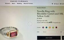 David Yurman novella ring