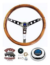 "1961-1966 Charger Coronet Polara Dart steering wheel CLASSIC WALNUT 15"" Grant"