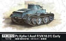 Flyhawk 1/72 German PzKpfw.I Ausf.F (VK18.01) Early Version with Metal Barrels