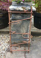 Parete da giardino rustico Bird FIORIERA VASO titolare Stand-Traliccio in Metallo Decorazione
