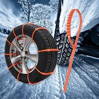 10x,20x,30x Nylon Winter Wheel Snow Anti-Skid Chains Cable Ties For Cars Suv