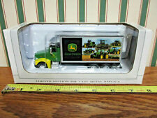 John Deere Peterbilt 385 Van Box Truck By SpecCast  !
