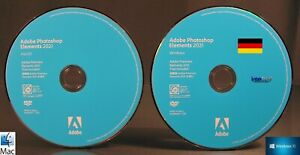Adobe Photoshop Elements 2021 Media-Kit Installations-DVDs Windows / Mac OS NEU