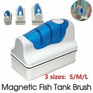 Floating Magnetic Cleaning Brush Aquarium Fish Tank Glass Algae Scraper Cleaner