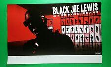 BLACK JOE LEWIS & THE HONEYBEARS RED SINGING PROMO 11x17 MUSIC POSTER