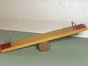 Vintage Reevesline Play Ground SeeSaw Dollhouse 1:12 Miniature 1972 Toy