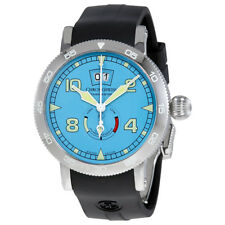 Chronoswiss Timemaster Blue Dial Automatic Mens Power Reserve Watch