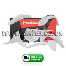 KTM 150XC XC 150 2012 White Polisport Plastics Kit Fairing Panel Set