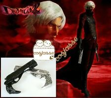 Hot DMM Devil May Cry 5 Cosplay Weapon Props Dante White and Black Gun New