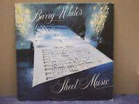 BARRY WHITE - Barry White's Sheet Music- LP - 33 GIRI - VG+/MINT