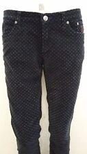 pantalone donna velluto liscio cotone elasticizzato Jeckerson size 29 taglia 43