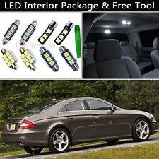 18PCS Error Free LED Interior Lights Package kit Fit 2006-2010 Benz CLS-Class J1