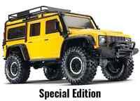 TRAXXAS TRX-4 Defender RTR 1/10 4WD 2-Gang Sperrdiffs Gelb Spec.Editi TRX82056-4