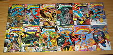 Adventures of Superman #0 & 424-649 VF/NM complete series + annual #1-9 + more