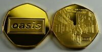 OASIS '(WHAT'S THE STORY) MORNING GLORY..?' 24ct Gold Coin Albums/50p Collectors