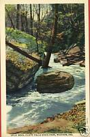 MADISON INDIANA CITY CLIFTY FALLS STATE PARK POSTCARD