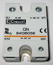 Crouzet Solid State Relay - 280V AC - 50A - GN 8413 - 90-280 VAC Control - 50Amp