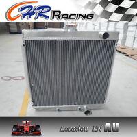 3 row Ford GT HO GS XR-XT 289 302 V8 & XR XT all 6CYL engine aluminum Radiator
