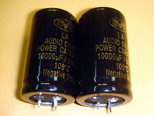 2 PIECES OF NOVER LA 10000uF 50V 105C FOR AUDIO ELECTROLYTIC CAPACITOR