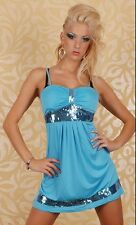 CW129 Sexy Sequin Pleated Tube Mini Dress Club Wear
