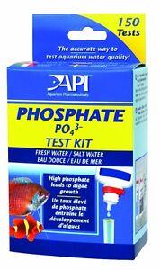 AQUARIUM PHARMACEUTICALS PHOSPHATE 150 TEST KIT API. TO THE USA