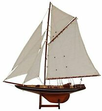 Home Loft Concept Columbia Lux Model Boat Wood Brown