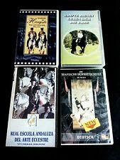 Shire Horse, Pura Raza Española, Lipizzaner, Andalusier, Araber etc VHS Konvolut