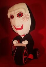 "ZigZag Saw Billy The Puppet on Bike 14"" Plush Figure"