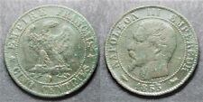 Napoléon III, 5 centimes 1855 D, TB