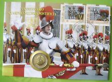 """VATIKAN 2006 2 Euro """" Schweizer Garde """"  NUMISBRIEF"""
