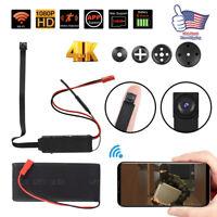 HD 1080P Mini Wireless Wifi Camera Hidden CAM Video Recorder +4pcs lens Spy Kit