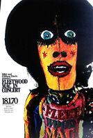 FLEETWOOD MAC - MUNICH MUSEUM GERMANY 1970 - GREAT POSTER! 2ND PRINTSCARCE